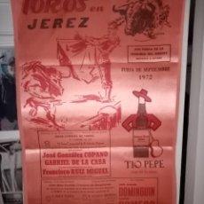 Tauromaquia: TOROS EN JEREZ FERIA 1972 DOMINGUIZ-C.ROMERO -R. DE PAULA PUERTA Y OTROS . Lote 195139611