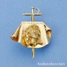 Tauromaquia: COLGANTE CRISTO TORERO EN PLATA DE LEY CON BAÑO DE ORO 23KT. Lote 195150183