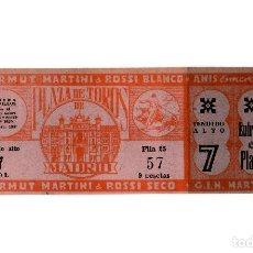 Tauromaquia: ENTRADA DE TOROS.- PLAZA DE MADRID. 1947.. Lote 195150202
