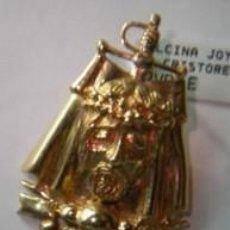 Tauromaquia: COLGANTE CRISTO TORERO EN PLATA DE LEY CON BAÑO DE ORO 23KT - 24X35MM.. Lote 195150356