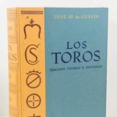 Tauromaquia: LOS TOROS - TRATADO TECNICO HISTORICO - VOL 3 - JOSE Mª COSSIO - ESPASA CALPE. Lote 195217721