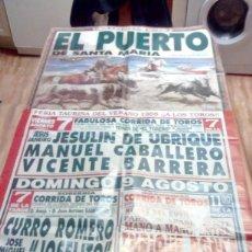 Tauromaquia: GRAN CARTEL DE TOROS. EL PUERTO. FERIA TAURINA DEL VERANO 1998. BBB. Lote 195232115