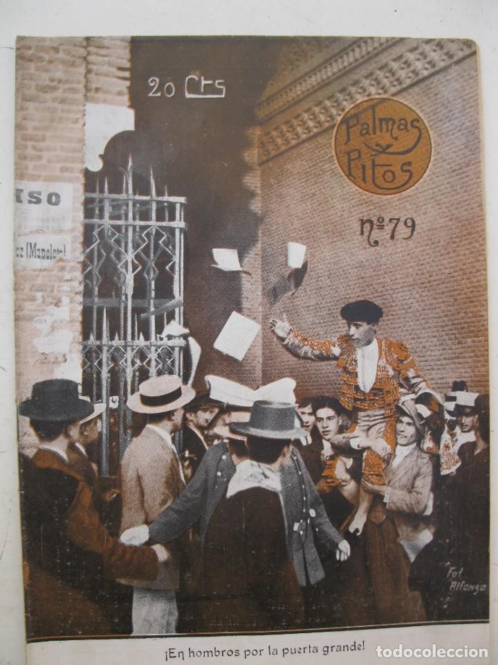 PALMAS Y PITOS - AÑO II - Nº 79 - SEPTIEMBRE DE 1914. (Coleccionismo - Tauromaquia)