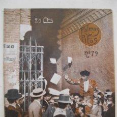 Tauromaquia: PALMAS Y PITOS - AÑO II - Nº 79 - SEPTIEMBRE DE 1914.. Lote 195275171