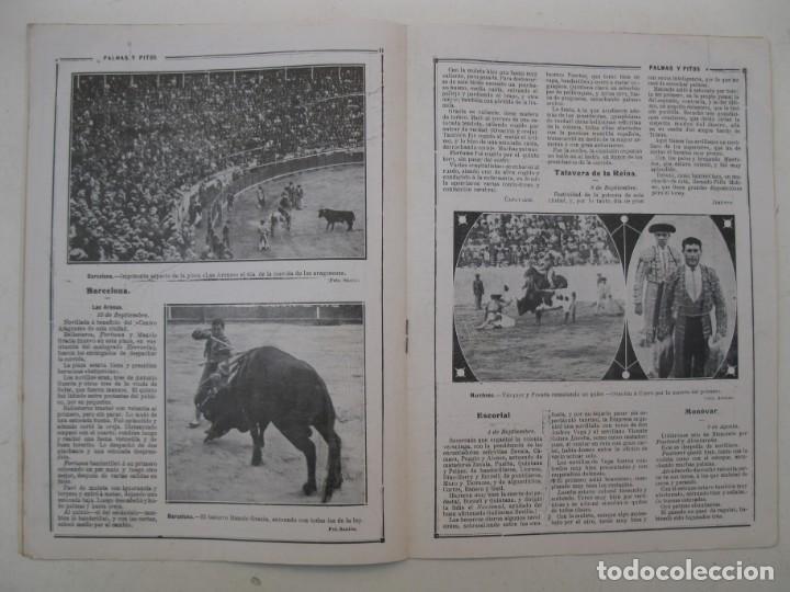 Tauromaquia: PALMAS Y PITOS - AÑO II - Nº 79 - SEPTIEMBRE DE 1914. - Foto 3 - 195275171