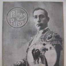Tauromaquia: PALMAS Y PITOS - AÑO II - Nº 75 - EUSEBIO FUENTES - AGOSTO DE 1914.. Lote 195275768