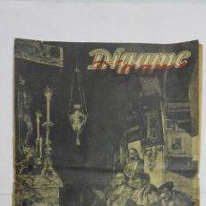 Tauromaquia: PERIODICO SEMANAL DIGAME, EXTRAORDINARIO DE TOROS, MARZO DE 1948. Lote 195331978