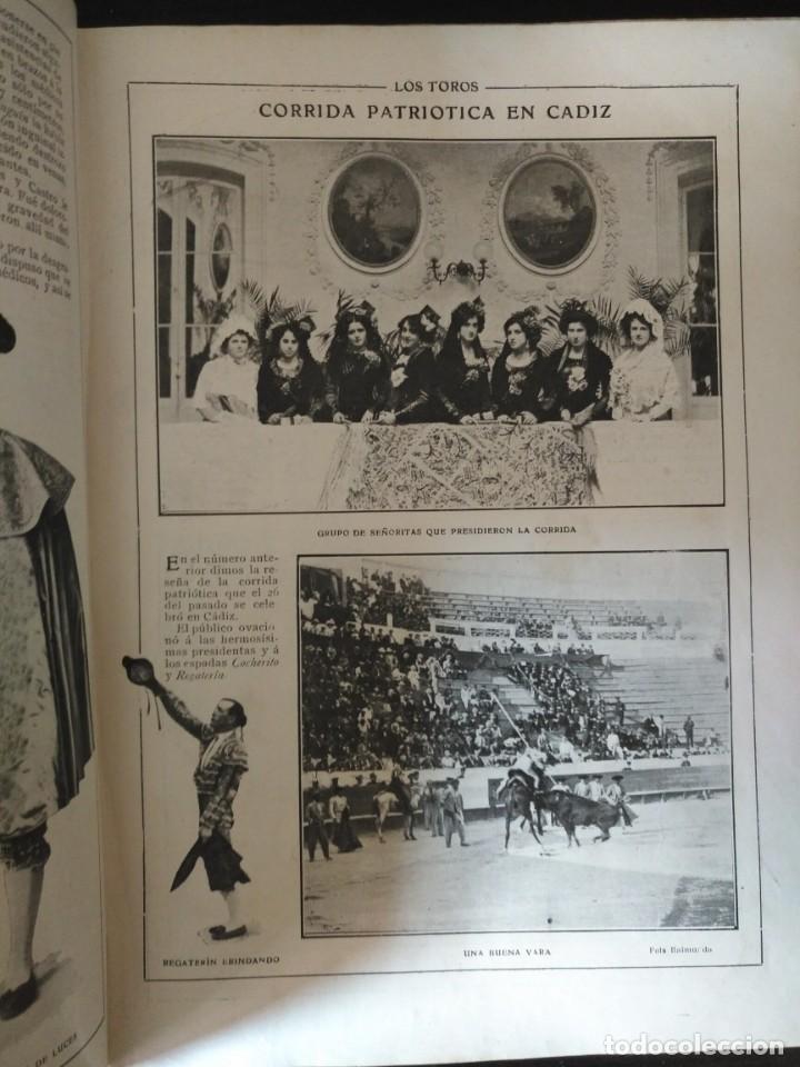 Tauromaquia: REVISTA LOS TOROS 1909-10, 37 NÚMEROS ENCUADERNADOS EN UN VOLUMEN. LEER - Foto 7 - 195361967