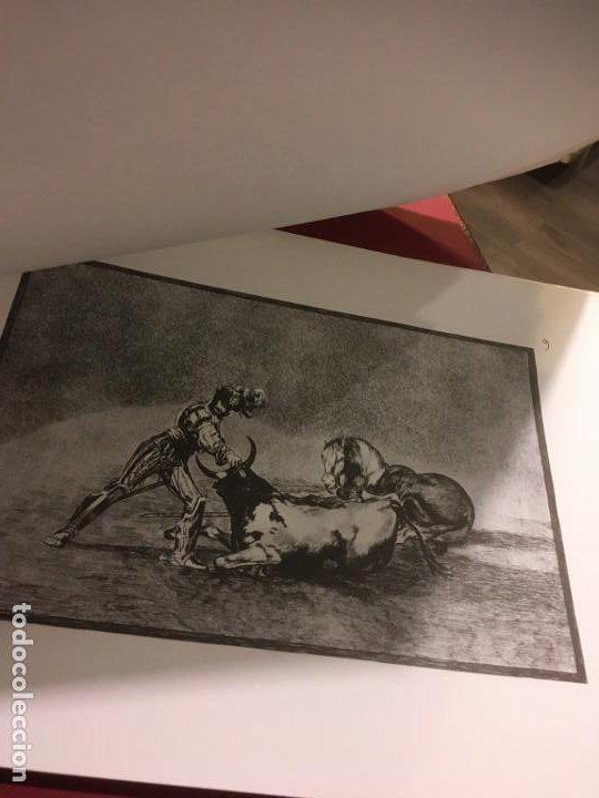 Tauromaquia: La tauromaquia homenaje a Goya dirigido por Antonio de Horna. 1815.1983. 49 x 36 cms. - Foto 2 - 195381705