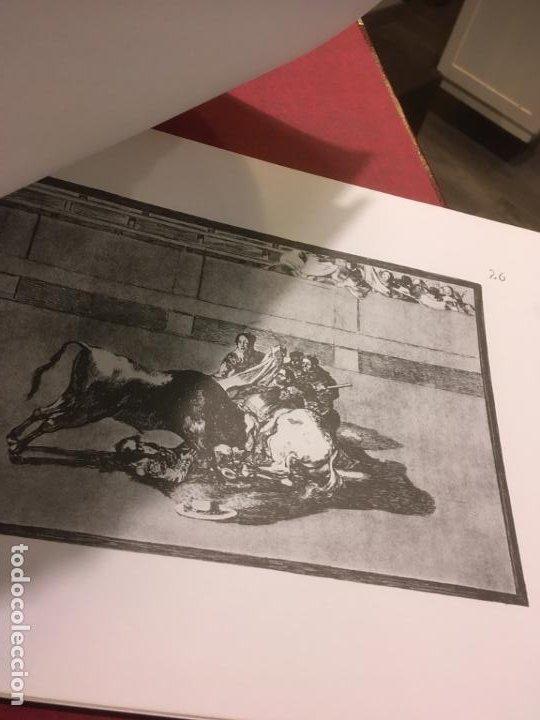 Tauromaquia: La tauromaquia homenaje a Goya dirigido por Antonio de Horna. 1815.1983. 49 x 36 cms. - Foto 7 - 195381705