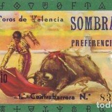 Tauromaquia: ENTRADA A LA PLAZA DE TOROS DE VALENCIA AÑO 1960. Lote 195399911