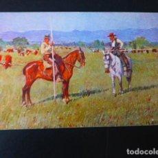 Tauromaquia: GARROCHISTAS M. BERTUCHI ILUSTRADOR CORRIDA DE TOROS POSTAL TAURINA. Lote 196004667