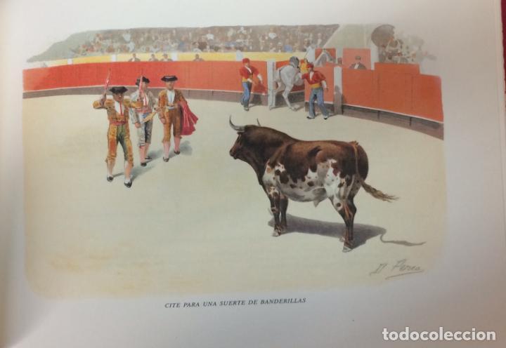 Tauromaquia: AÑO 1998 - A LOS TOROS ÁLBUM CON 28 ACUARELAS TAURINAS DE DANIEL PEREA EDICIÓN FACSÍMIL - Foto 6 - 196781546