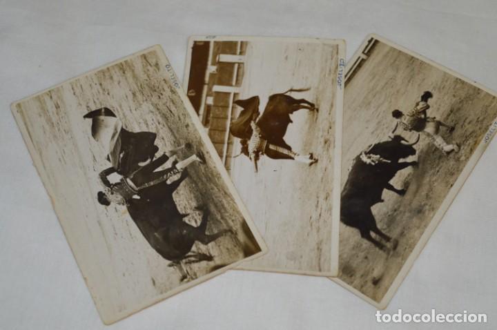 Tauromaquia: JOSELITO - Principios 1900 / 3 FOTOGRAFIAS TARJETA P. - Fotógrafo RODERO / Madrid ¡Originales, MIRA! - Foto 2 - 199662686