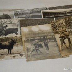 Tauromaquia: PRINCIPIOS/MEDIADOS 1900 / 11 FOTOGRAFÍAS TARJETA POSTAL / SIN DATOS / ORIGINALES Y VARIADAS ¡MIRA!. Lote 199665916