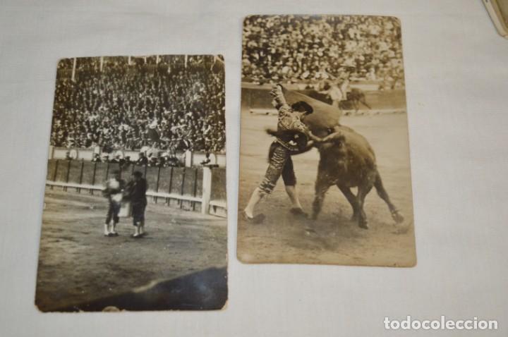 Tauromaquia: Principios/Mediados 1900 / 11 FOTOGRAFÍAS TARJETA POSTAL / Sin datos / Originales y variadas ¡MIRA! - Foto 3 - 199665916