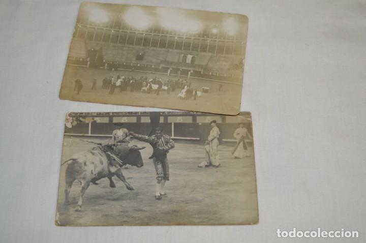 Tauromaquia: Principios/Mediados 1900 / 11 FOTOGRAFÍAS TARJETA POSTAL / Sin datos / Originales y variadas ¡MIRA! - Foto 4 - 199665916
