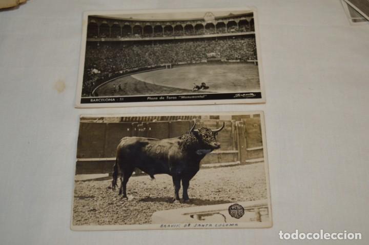 Tauromaquia: Principios/Mediados 1900 / 11 FOTOGRAFÍAS TARJETA POSTAL / Sin datos / Originales y variadas ¡MIRA! - Foto 5 - 199665916