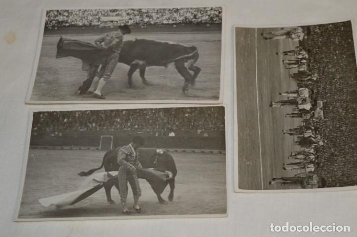 Tauromaquia: Principios/Mediados 1900 / 11 FOTOGRAFÍAS TARJETA POSTAL / Sin datos / Originales y variadas ¡MIRA! - Foto 7 - 199665916