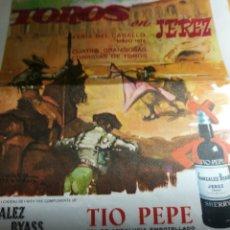 Tauromaquia: CARTEL DE TOROS JEREZ. Lote 199684506