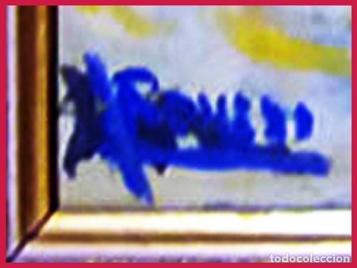 Tauromaquia: ROMERO (CONTEMPORÁNEO).- PICANDO AL TORO -. OLEO SOBRE LIENZO A TODO COLOR. ENMARCADO. Firmado. - Foto 3 - 31193034