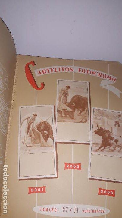 Tauromaquia: catalogo de propaganda taurina 1959,imprenta litografia ortega valencia-españa - Foto 3 - 202268396