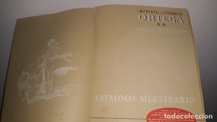 Tauromaquia: catalogo de propaganda taurina 1959,imprenta litografia ortega valencia-españa - Foto 7 - 202268396