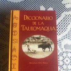 Tauromaquia: DICCIONARIO DE LA TAUROMAQUIA. MARCELINO ORTIZ BLASCO CON LA COLABORACIÓN DE JOSÉ Mª SOTOMAYOR.. Lote 202379546