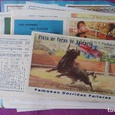 Tauromaquia: LOTE 290 PROGRAMAS DE TOROS , AÑOS 60-70-80-90-00 VER FOTOS ADICIONALES HAY BASTANTES REPETIDAS. Lote 203210666