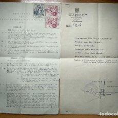 Tauromaquia: REGLAMENTO CLUB TAURINO PACO MUÑOZ. ZARAGOZA 1947. CARTA CONFERENCIA 1948.. Lote 204516077