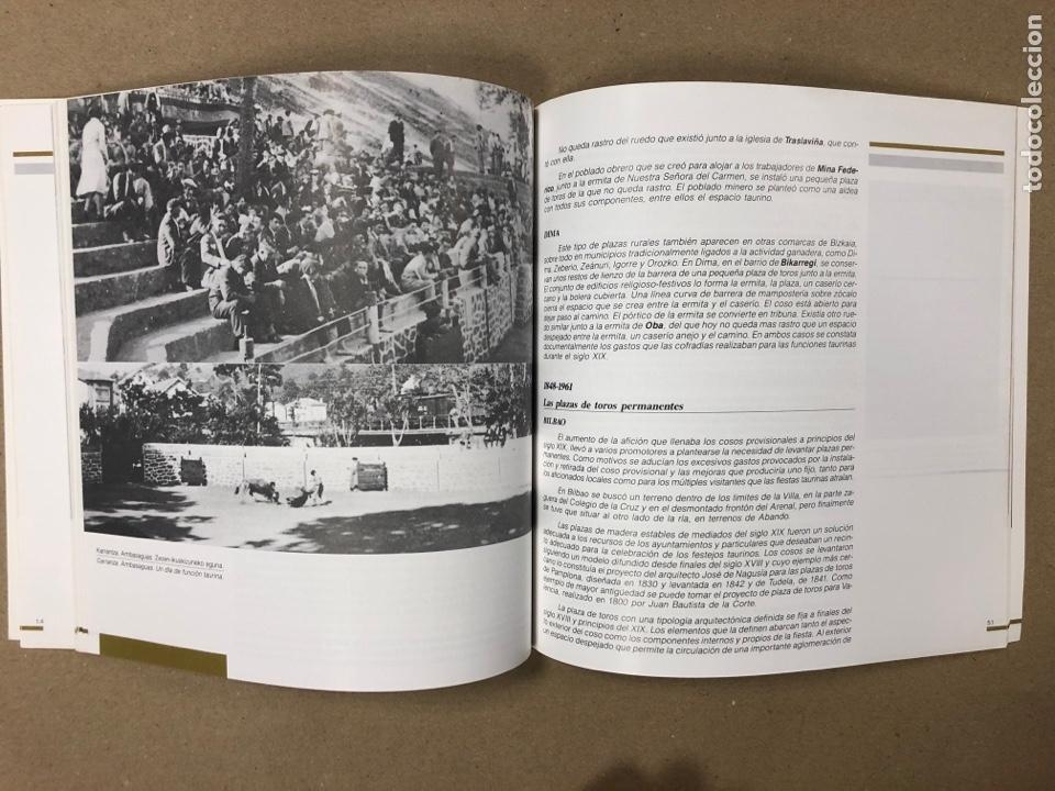Tauromaquia: PLAZAS DE TOROS DE BIZKAIA - BIZKAIKO ZEZENPLAZAK. EDITA DIPUTACIÓN FORAL DE BIZKAIA 1991. - Foto 6 - 204709245