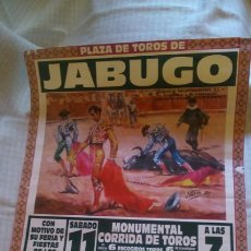 Tauromaquia: PLAZA DE TOROS DE JABUGO, 1998, 63X43. Lote 205263838