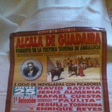 Tauromaquia: PLAZA,DE TOROS DE ALCALÁ DE GUADAIRA, 1998, 63X43 CM. Lote 205267468