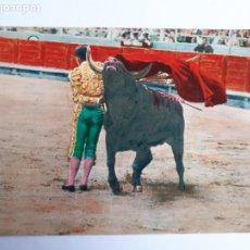 Tauromaquia: CORRIDA DE TOROS.UNA MANOLETINA. POSTAL. Lote 206772793