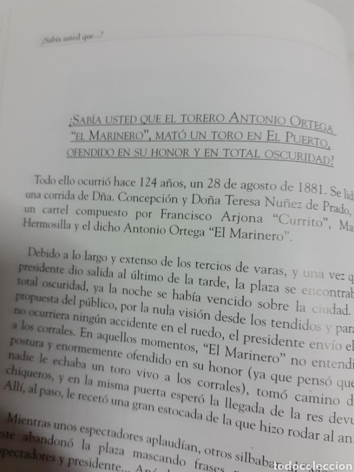 Tauromaquia: Dos libros de la tertulia Portuense La Garrocha, año 2005 - Foto 3 - 206941092