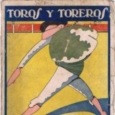 Tauromaquia: TOROS Y TOREROS. 1922. - DON LUIS.. Lote 207420458