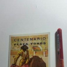 Tauromaquia: CALATAYUD CENTENARIO PLAZA DE TOROS PROGRAMA DE MANO. Lote 207891357