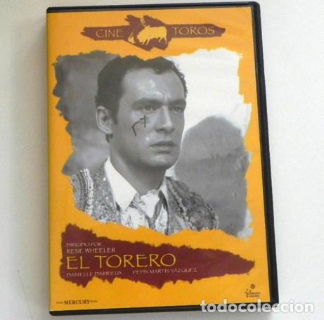 DVD PELÍCULA - EL TORERO - PEPÍN MARTÍN VÁZQUEZ - RENE WHEELER - DARRIEUX - CINE - TAUROMAQUIA TOREO (Coleccionismo - Tauromaquia)