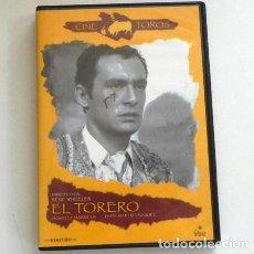 Tauromaquia: DVD PELÍCULA - EL TORERO - PEPÍN MARTÍN VÁZQUEZ - RENE WHEELER - DARRIEUX - CINE - TAUROMAQUIA TOREO. Lote 208274882
