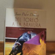 Tauromaquia: JUAN PEDRO DOMECQ DEL TOREO A LA BRAVURA. Lote 210576836