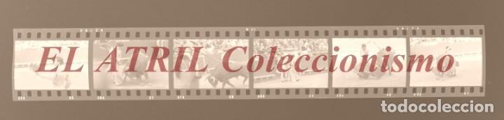 Tauromaquia: VALENCIA TOROS FALLAS AÑO 1965, 33 CLICHES NEGATIVOS DE 35 mm EN CELULOIDE, PUERTA, CAMINO, MACARENO - Foto 5 - 210670572