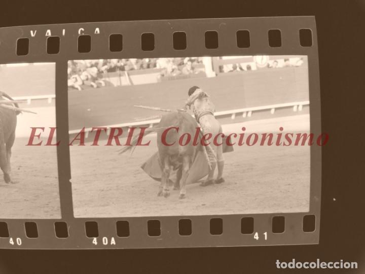 Tauromaquia: VALENCIA TOROS FALLAS AÑO 1965, 33 CLICHES NEGATIVOS DE 35 mm EN CELULOIDE, PUERTA, CAMINO, MACARENO - Foto 13 - 210670572