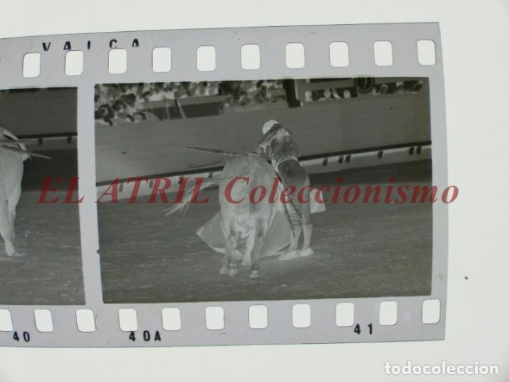 Tauromaquia: VALENCIA TOROS FALLAS AÑO 1965, 33 CLICHES NEGATIVOS DE 35 mm EN CELULOIDE, PUERTA, CAMINO, MACARENO - Foto 14 - 210670572