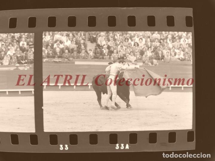 Tauromaquia: VALENCIA TOROS FALLAS AÑO 1965, 33 CLICHES NEGATIVOS DE 35 mm EN CELULOIDE, PUERTA, CAMINO, MACARENO - Foto 27 - 210670572