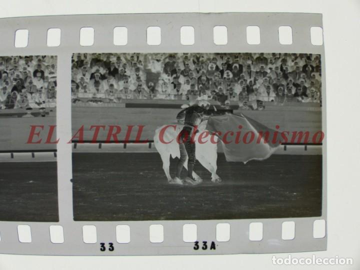 Tauromaquia: VALENCIA TOROS FALLAS AÑO 1965, 33 CLICHES NEGATIVOS DE 35 mm EN CELULOIDE, PUERTA, CAMINO, MACARENO - Foto 28 - 210670572