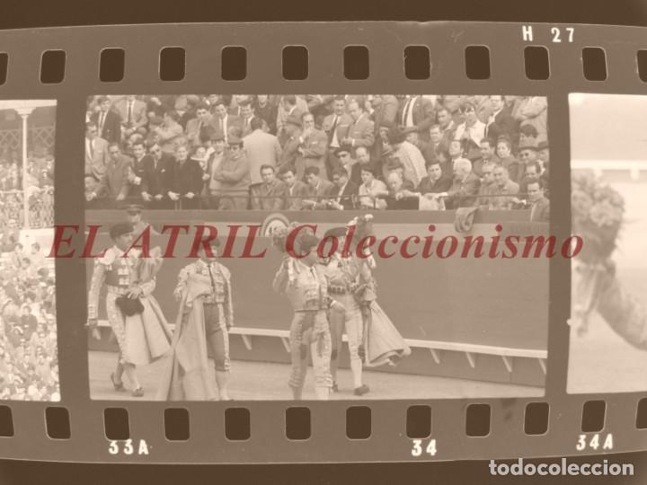 Tauromaquia: VALENCIA TOROS FALLAS AÑO 1965, 33 CLICHES NEGATIVOS DE 35 mm EN CELULOIDE, PUERTA, CAMINO, MACARENO - Foto 39 - 210670572