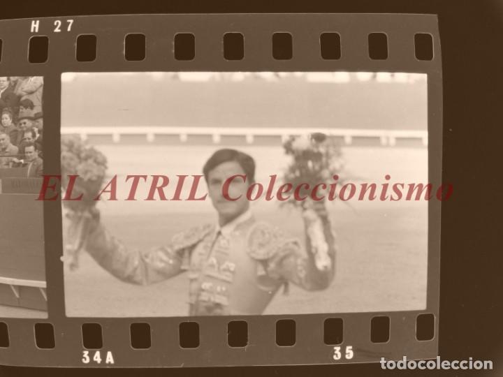 Tauromaquia: VALENCIA TOROS FALLAS AÑO 1965, 33 CLICHES NEGATIVOS DE 35 mm EN CELULOIDE, PUERTA, CAMINO, MACARENO - Foto 41 - 210670572