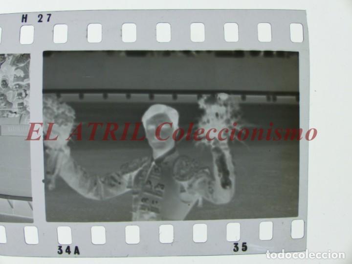 Tauromaquia: VALENCIA TOROS FALLAS AÑO 1965, 33 CLICHES NEGATIVOS DE 35 mm EN CELULOIDE, PUERTA, CAMINO, MACARENO - Foto 42 - 210670572