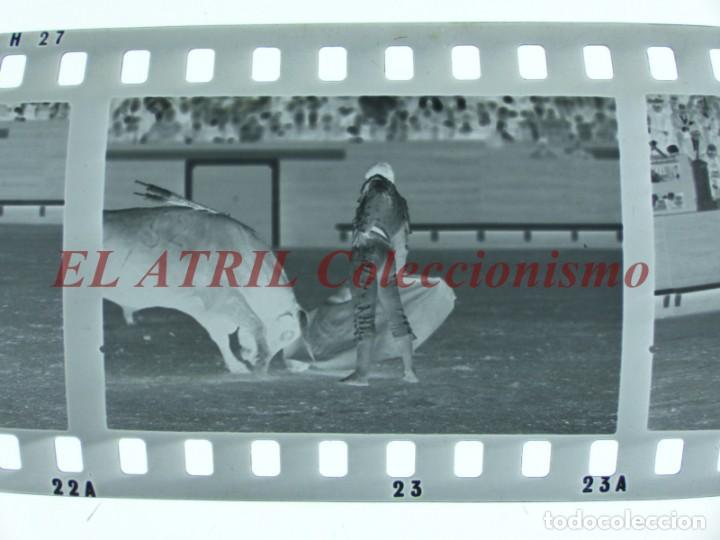 Tauromaquia: VALENCIA TOROS FALLAS AÑO 1965, 33 CLICHES NEGATIVOS DE 35 mm EN CELULOIDE, PUERTA, CAMINO, MACARENO - Foto 48 - 210670572