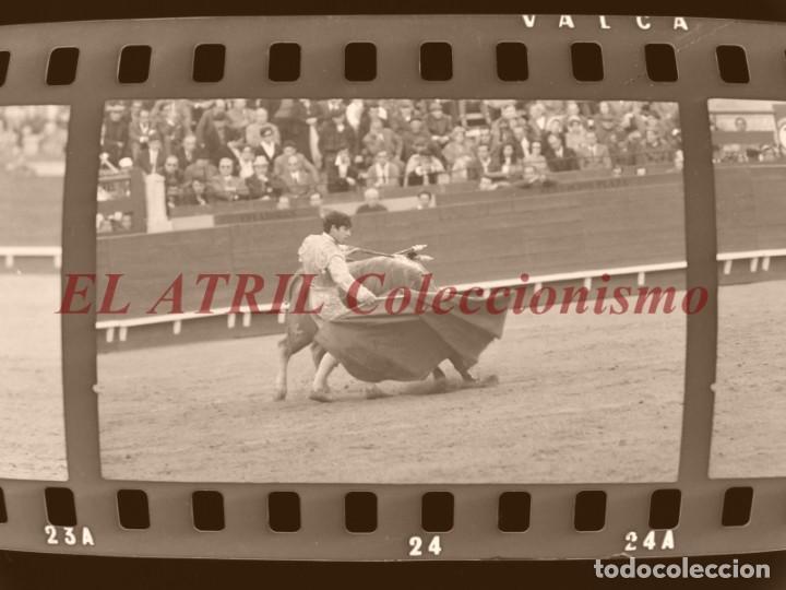 Tauromaquia: VALENCIA TOROS FALLAS AÑO 1965, 33 CLICHES NEGATIVOS DE 35 mm EN CELULOIDE, PUERTA, CAMINO, MACARENO - Foto 49 - 210670572